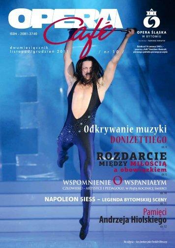Odkrywanie muzyki - Opera Śląska