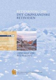betænkning om det grønlandske retsvæsen