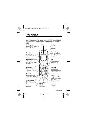 Velkommen - Download Instructions Manuals