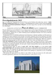 Kirkeblab Maj 2012 - Høm sogne