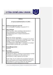 Referat repræsentantskabsmøde 4-3-2012 - Fyns Bowling Union