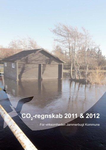 CO2 regnskab 2011 og 2012 - Jammerbugt Kommune