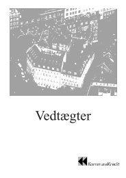 Vedtægter 2007 - KommuneKredit
