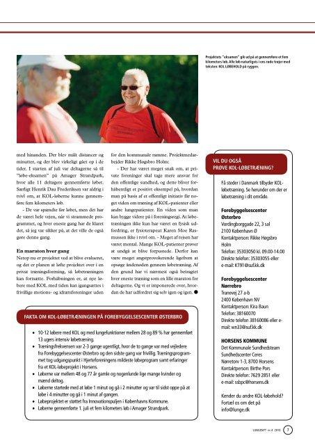 Lungenyt september 2010 - Danmarks Lungeforening