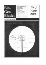 Nr. 3 April 2002 - AU/BIO - Aarhus Universitet