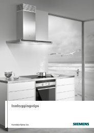 Innbyggingstips - Siemens