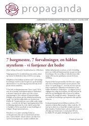 vi fortjener det bedre - Socialdemokraterne i København
