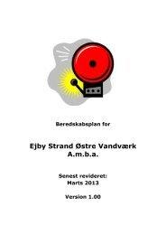 Ejby Strand Østre Vandværk A.m.b.a.