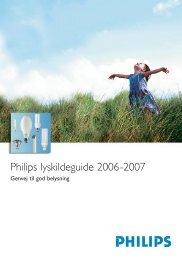 Inlaga alla 003-038 mos.qxd:Lampguide 06 - Philips