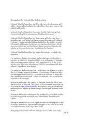 Retningslinjer for Syddansk Elite Golfstipendium ... - Dansk Golf Union