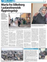 Maria fra Silkeborg i palæstinensisk flygtningelejr - DHIP