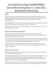 Læs bestyrelsens beretning her - printvenlig - Runeparken