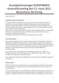 Læs bestyrelsens beretning her - printvenlig - Runeparken - Page 2