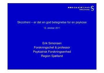 Skizofreni som diagnose - Region Sjælland