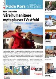 Våre humanitære møteplasser i Vestfold - Røde Kors