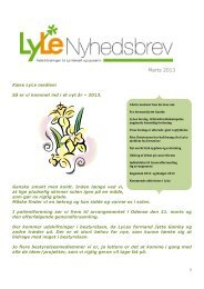 Nyhedsbrev, marts 2013 (pdf) - Kræftens Bekæmpelse