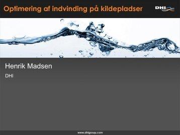 Optimering af indvinding på kildepladser - Danish Water Forum