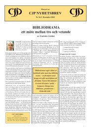BIBLIODRAMA (Geisler 36-2).indd - Centrum för Jungiansk Psykologi