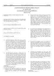 EUROPA-PARLAMENTETS OG RÅDETS DIREKTIV 2005/36/EF af ...