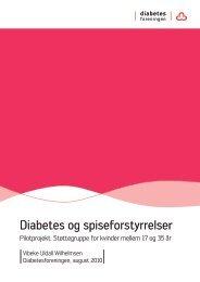 Diabetes og spiseforstyrrelser - Diabetesforeningen