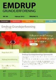 Blad no 185 marts 2012 - EMGF