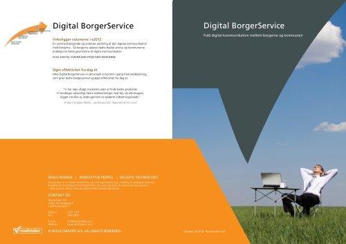 Digital BorgerService Digital BorgerService - Resultmaker