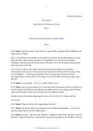 Intervju med James, Del 3 - Wingmakers.se