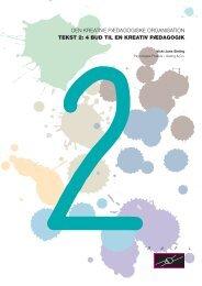 4 bud til en kreativ pædagogik - Bupl