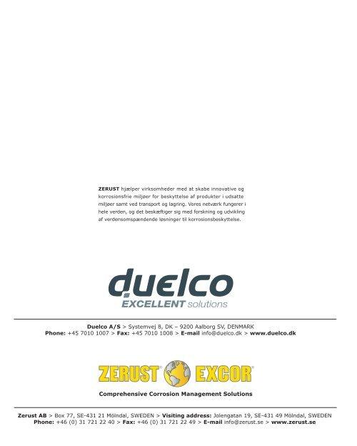 En skånsom metode – mod ondartede angreb - Duelco