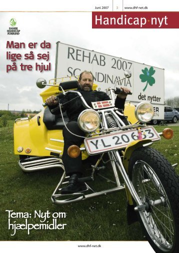 Handicap·nyt - Dansk Handicap Forbund