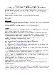 TR-møde 0-6 års området 15. januar 2012 referat - Bupl