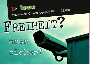 :> krass 02.2008 - Grüne Jugend NRW