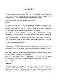 Beretning 2010/11 - Grundejerforeningen for Kårup Skov og Ordrup ...