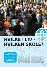 HVILKET LIV - HVILKEN SKOLE? - Aalborg Kommunale Skolevæsen