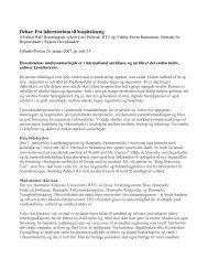 Debat: Fra laboratorium til hospitalsseng - Københavns Universitet