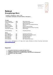 2013.01.10 Referat - Energiklyngemøde - Morsø forsyning
