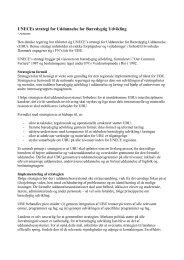 Resume af UNECE strategien for UBU - Uddannelse for Bæredygtig ...