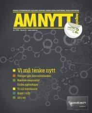 AMNYTT #2 2012 - AMNYTT - Amnytt.no