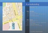 KURSUSKATALOG - For Studerende