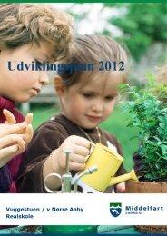 Udviklingsplan - Nørre Aaby Realskole