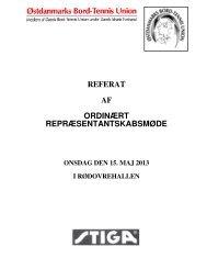 Referat af repræsentantskabsmødet - ØBTU