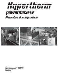 Plasmabue skæringssystem - Svejsehuset A/S