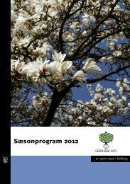 Sæsonprogram 2012 - Kolding Kommune