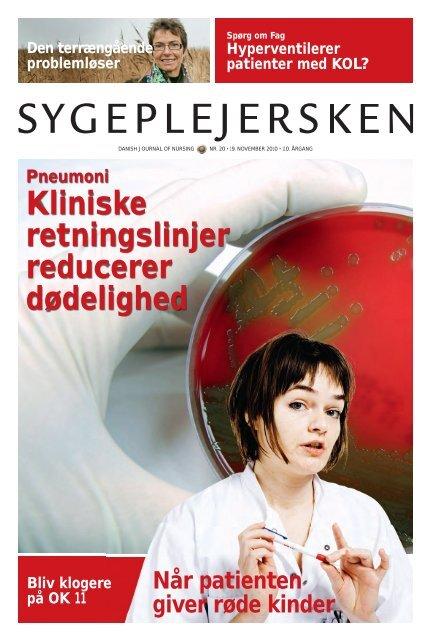 Sygeplejersken 2010 Nr. 20 - Dansk Sygeplejeråd