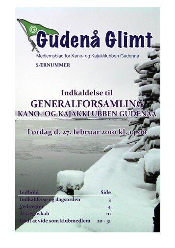 2010_februar - Kano- og Kajakklubben Gudenaa