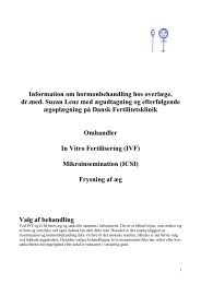 Patientinformationsskrivelse om ambulant IVF ICSI DF - Suzan Lenz ...