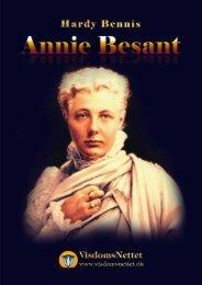 ANNIE BESANT - tænker og pioner - Hardy Bennis - Visdomsnettet