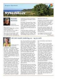 Nyhedsbrev no. 20 - Hospice Djursland