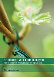 De skjulte velfærdsreserver - viden og visioner ... - Danske Regioner