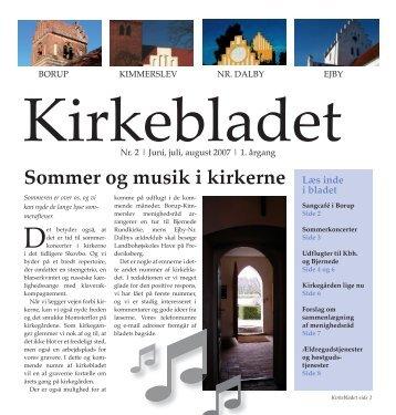 Sommer og musik i kirkerne Læs inde - Ejby Kirke